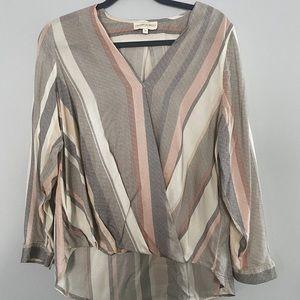 Cynthia Rowley hi-lo dress top